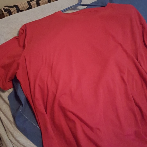 George Tops - T shirts in 3 colors aqua, red, and it blue
